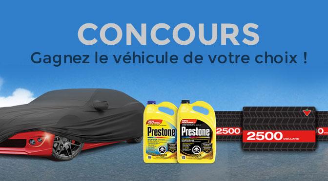 concours-prestone-le-vehicule de votre choix