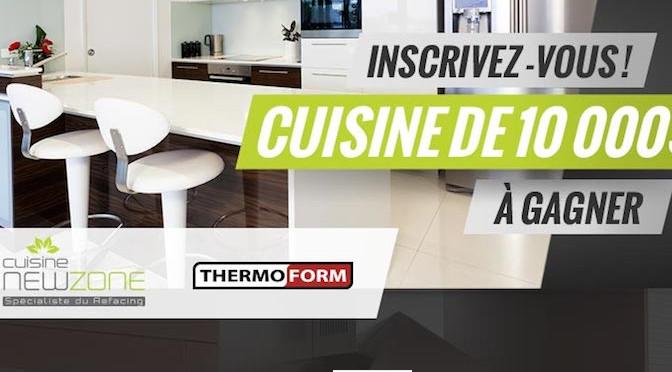 Refacing de cuisine, cuisine NewZone, 10 000$