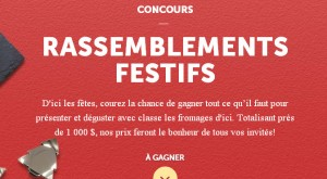 Fromages d'ici, concours