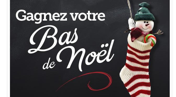 Bas de Noël, Rouge fm, concours