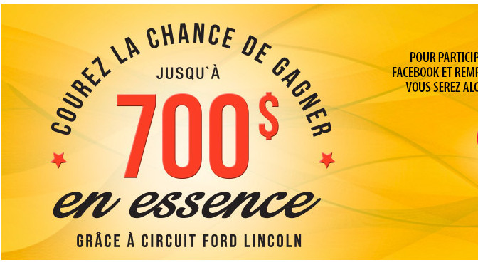 Ford Lincoln, concours, essence