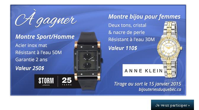 Kit montre, concours