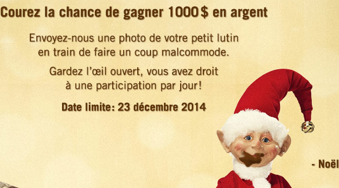 Lutins, concours,