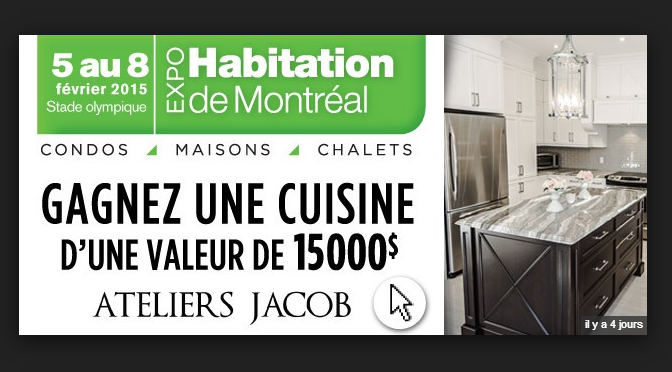 concours cuisine 15 000$