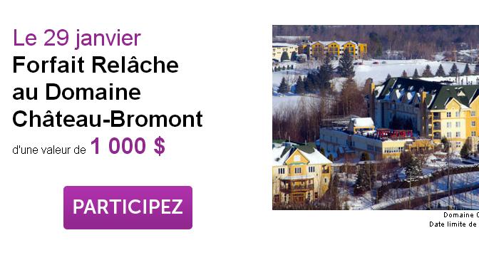 Château-Bromont, concours