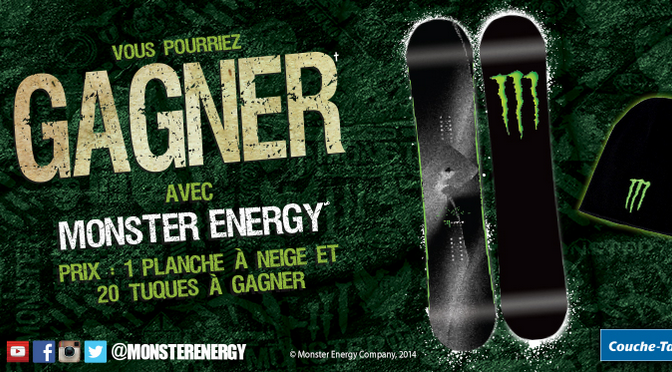 Concours, Monster Energy