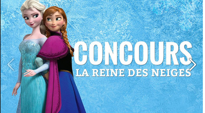 Concours, La reine des neiges