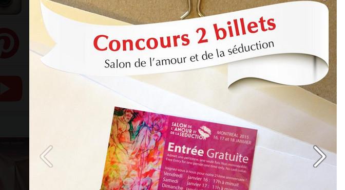 Concours, Boutique Séduction