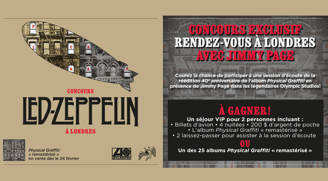 concours Led Zeppelin