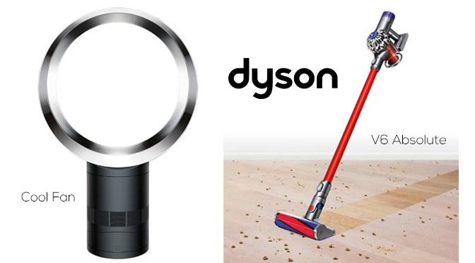 Concours Dyson V6 Absolute et cool fan