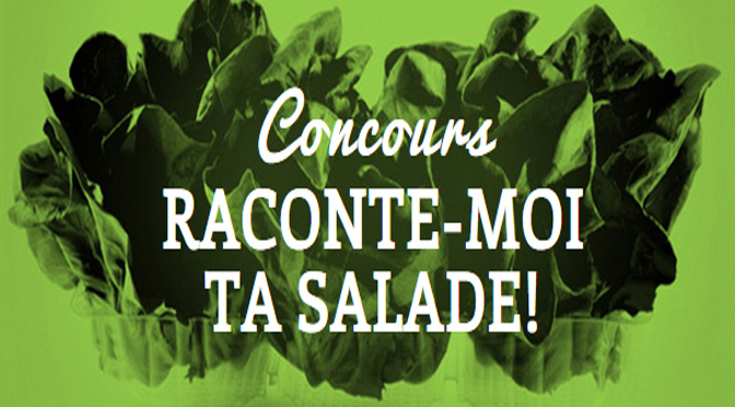 concours raconte moi ta salade