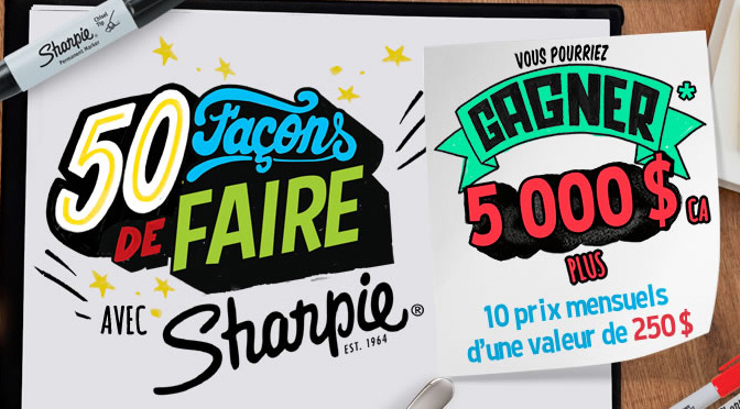 Concours Sharpie