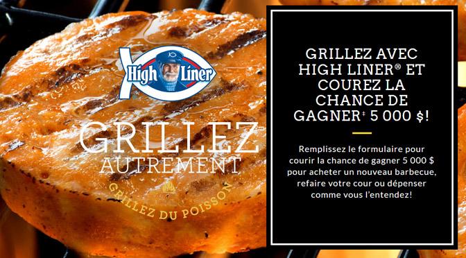 Concours Grillez Autrement avec High Liner