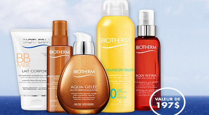 Concours Biotherm