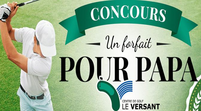 Concours Golf Le Versant