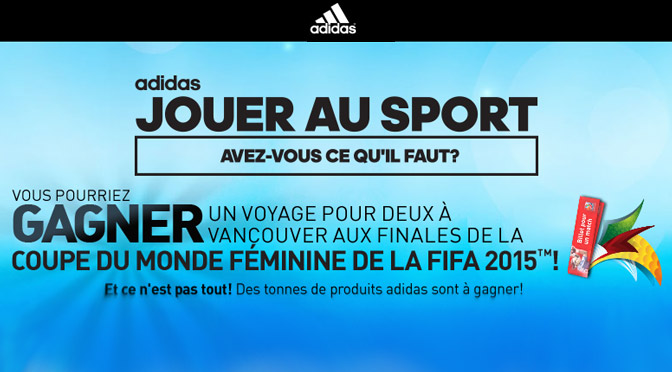 Concours Adidas