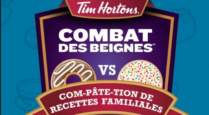 Concours Tim Hortons