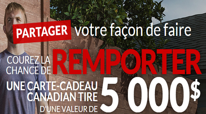 Concours Canadian Tire
