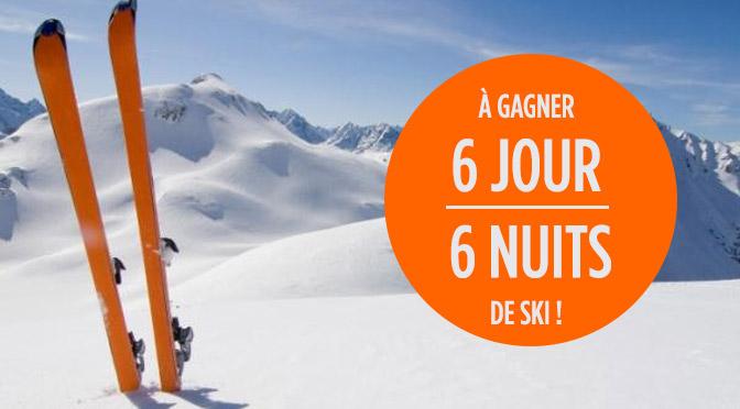 Concours forfait de ski