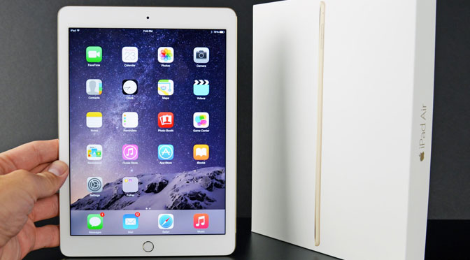 Concours Ipad Air 2