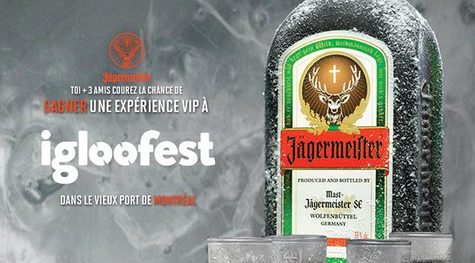 Concours Igloofest Jaguemaeister