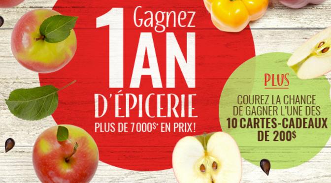 Concours Pommes Qualité Québec