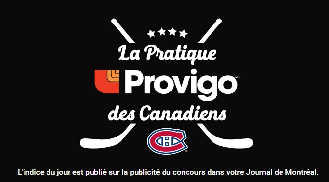 Concours Journal de Montreal
