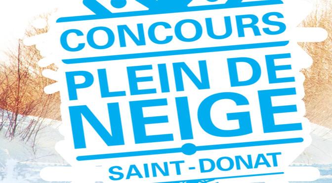 Concours Tourisme Saint-Donat