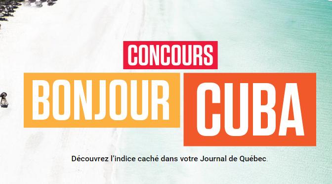 Concours Journal de Québec