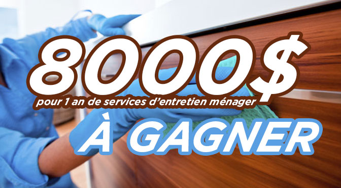 concours finish 8000$