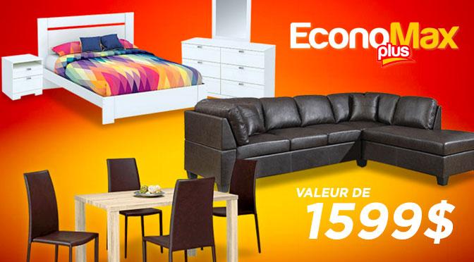 Concours Economax 3 pièces meublées