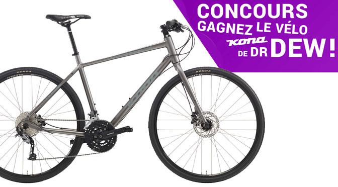 concours la cordé vélo Kona