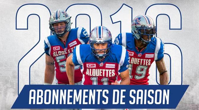 concours Billet de saison Alouettes de Montréal