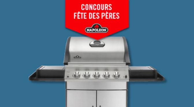 Concours BBQ Napoleon Germain Lariviere