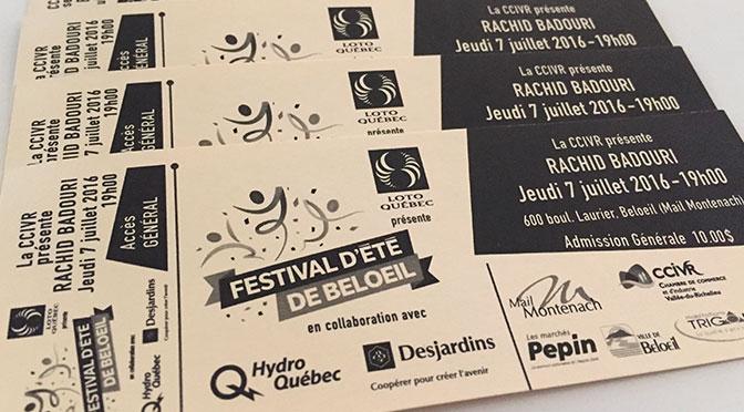Concours show Rachid Badouri