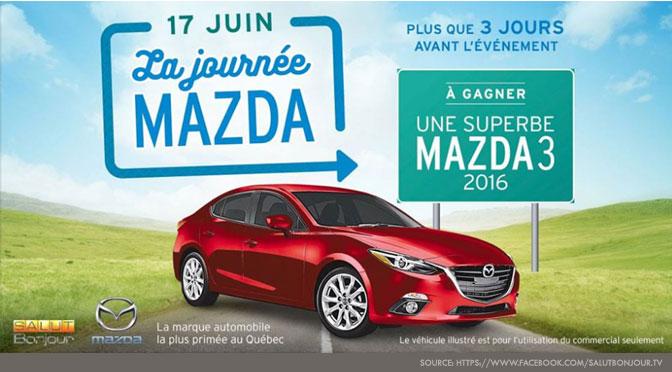 Concours La Journée Mazda