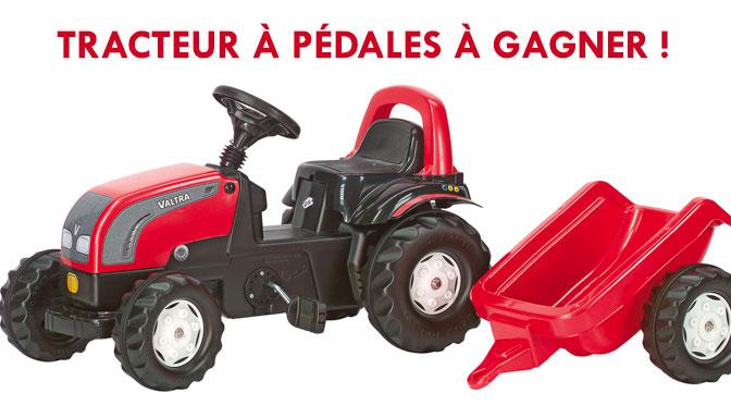 Concours tracteur à pedale