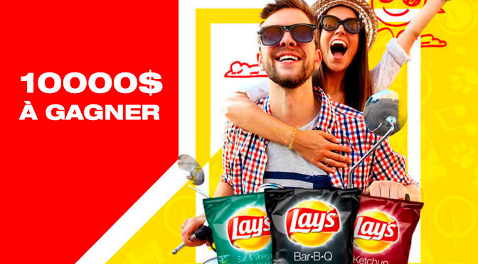 Concours Lays 10000$ à gagner