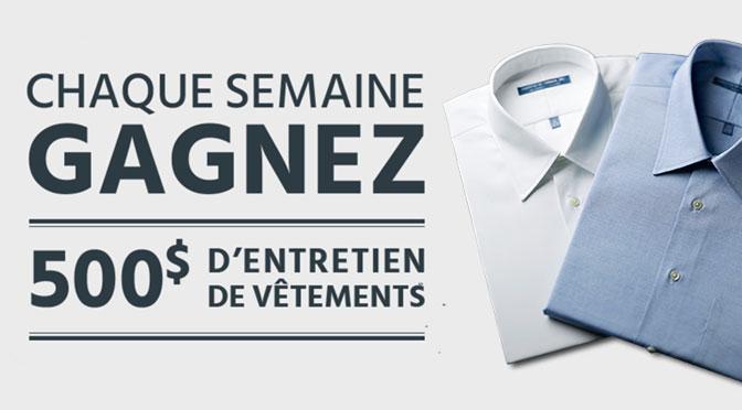 Concours Nettoyeur à sec Daoust/Forget