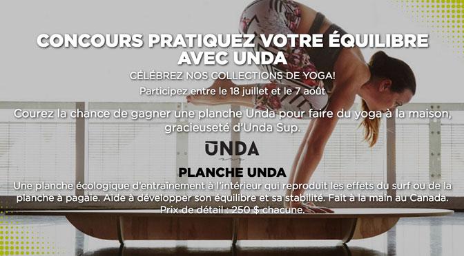 Concours Unda