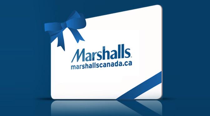 Carte-cadeaux marshalls