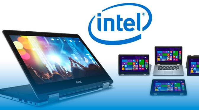 Ordinateur Dell de Intel