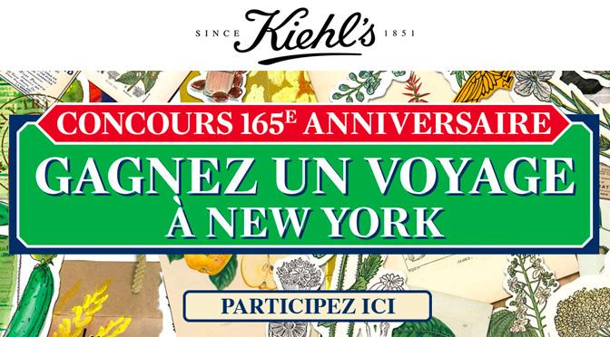 Concours voyage à new york Kiel's