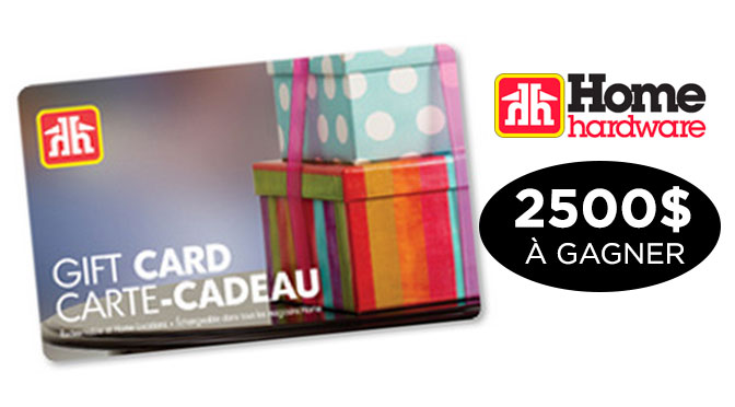 concours home hardware
