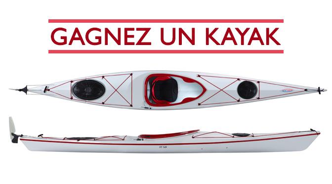 Concours pour gagner un Kayak