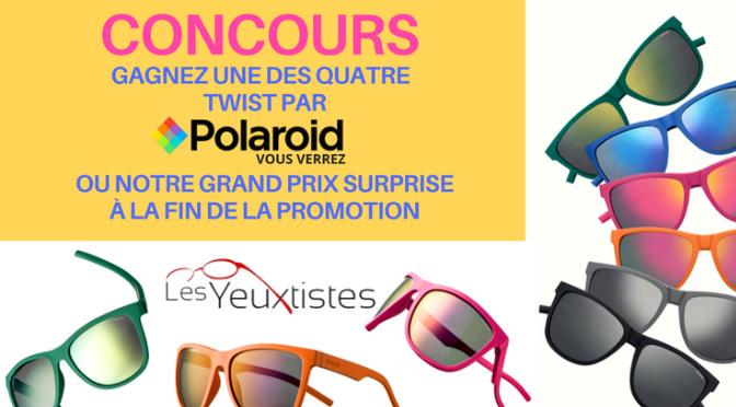 Concours Lunette Polaroid