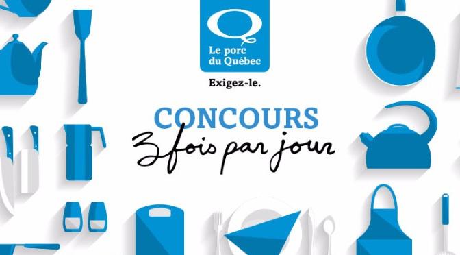 concours le porc du Québec