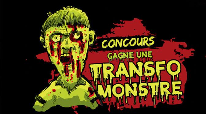 Concours transfo monstre de la maison hanté
