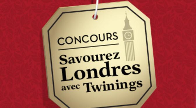Concours Twinings voyage à londre