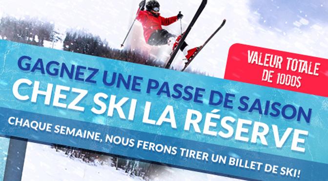 Passe saisson Ski la réserve !